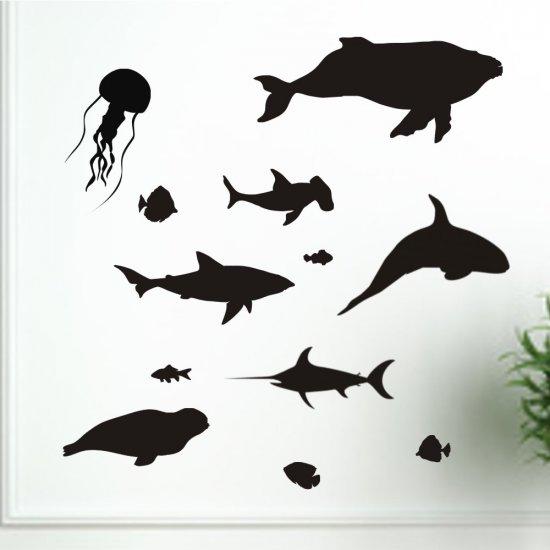 Sea World Vinyl Decals Art Graphics Stickers