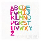 Just an ABC Wall Vinyl Decals Art Graphics Stickers