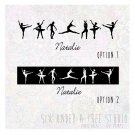 Personalized Ballerinas Wall Vinyl Decals Art Graphics Stickers