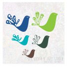 Little Birds Vol 4 Wall Vinyl Decals Art Graphics Stickers