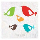 Little Birds Vol 5 Wall Vinyl Decals Art Graphics Stickers
