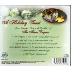 A Holiday Toast [Audio CD] THE THREE DEGREES