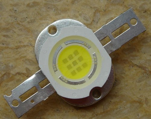 High-power 600Lm 10W Warm White LED