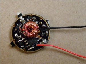 1.5V 3W/5W 20-Mode Regulated Stepup Led Driver