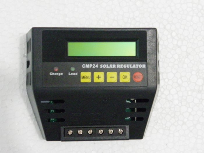 Solar Charge Controller with LCD Display 20A 12V/24 AutoRecgnition