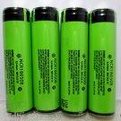 Panasonic NCR18650B 3400mA Li-ion Rechargeable Protected Batteries 4Pcs