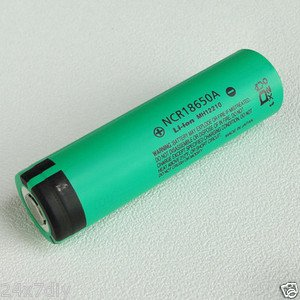 Panasonic NCR18650A 3100mA Li-ion Rechargeable Original Battery Made in Japan