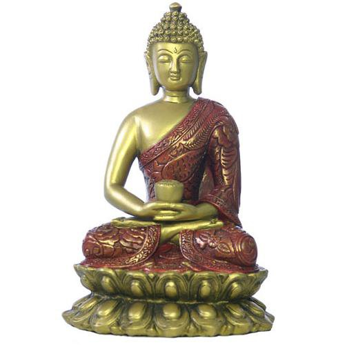 Buddha in meditation statue