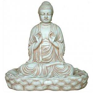 Statue of Japanese Buddha Seated