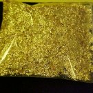 WHOLESALE GOLD FLAKES 1 OZ/OUNCE CRAFTS VIALS