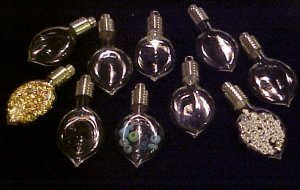 10 lot GLASS HEART TEARDROP PENDANTS~CHARMS ~FREE GOLD~