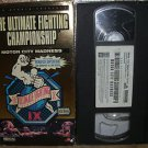 UFC The Ultimate Fighting Championship IX Motor City Madness Vhs Video With Box