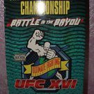 UFC Battle In The Bayou Vhs Video Ultimate Fighting Championship XVI