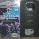 WWF Tour de Force 96 Vhs Video Box Art Included Shawn Michaels Owen Hart