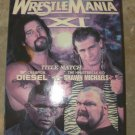 WWE Wrestlemania XI Vhs Video With Cover