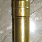 WWII BOWERS STORM MASTER BRASS BULLET SHAPE Trench LIGHTER 1930