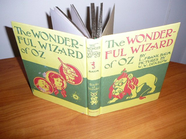 The Wonderful Wizard of Oz - replica of original - Books of Wonder