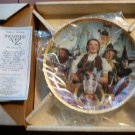 50 years of Oz collectible large plate with 24K gold by Hamilton collection...
