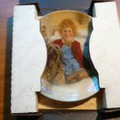 Annie collectible plate by Knowles CO with certificate of authenticity in...
