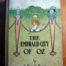 Emerald City of Oz. Later edition with 12 color plates