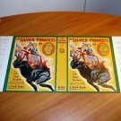 Facsimile dust jacket for Silver Princess of Oz book