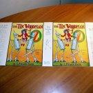 Facsimile dust jacket for Tin Woodman of Oz book