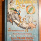 Kabumpo in Oz. 1st edition, 12 color plates (c.1922)