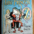 Lost Princess of Oz. 1st edition 1st state. ~ 1917