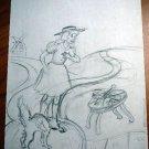Original Dick Martin Artwork from Ozmapolitan of Oz (illustration on page 55)
