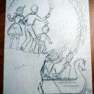 Original Dick Martin full page Artwork from Ozmapolitan of Oz (illustration...