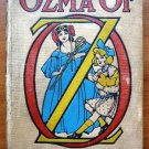 Ozma of Oz, 1-edition, 1st state, primary binding. ~ 1907