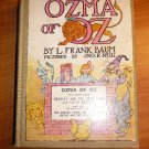 Ozma of Oz, 1923 edition with color illustrations