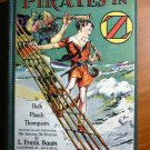 Pirates in Oz. 1st edition with 12 color plates (c.1931)