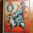 Rinkitink in Oz. 1st edition, 1st state. ~ 1916