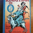 Rinkitink in Oz. Later edition with 12 color plates