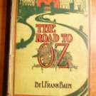 Road to Oz. 1st edition, 1st state, 1st printing. ~ 1909