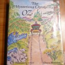The mysterious Chronicles of Oz by Onyx Madden. Hardcover in Dj.  1985