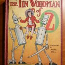 Tin Woodman of Oz. 1st edition with 12 color plates