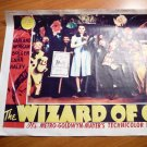 Wizard of Oz miniature poster. Measure 11x14. Signed by Meinhardt Raabe in...