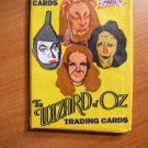 Wizard of Oz trading cards series. 10 cards.  1990.