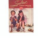 The Sealtest Food Adviser Fall 1940 Cookbook