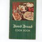 Bond Bread Cookbook 1935