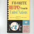 Favorite Recipes from the United Nations Cookbook