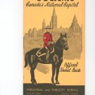 Vintage Ottawa Canada Official Tourist Guide MUST SEE