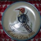 Home From School Berda Hummel Mothers Day 1986 Collector Plate Schmid