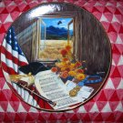 America The Beautiful by Higgins Bond Collector Plate Knowles