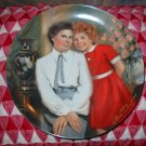 Annie and Grace by William Chambers Collector Plate Knowles 1983