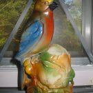 Vintage Parrot Vase Germany Very Pretty Piece