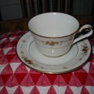 Noritake Suffolk (7549) Ivory China Cup and Saucer Retired