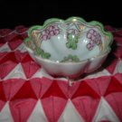 Hand Painted Nippon Footed Dish / Bowl Very Pretty Piece